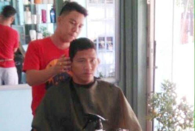 Người chuyên cắt tóc cho cầu thủ bóng đá: Anh Đức là người hoàn hảo - 1
