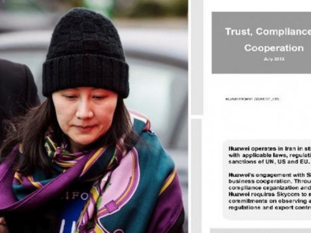 Mỹ tung chứng cứ buộc tội giám đốc tài chính Huawei