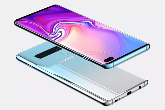 Lộ diện phiên bản Galaxy S10+ với khả năng 5G - 1