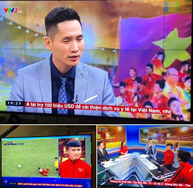 """MC Quốc Khánh hỏi Quang Hải """"đau thật hay chiến thuật"""": Sao Việt lên tiếng bất bình - 1"""