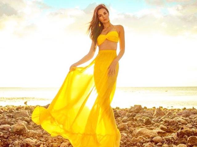 Nhan sắc đẹp tựa nữ thần của tân Hoa hậu Hoàn vũ 2018 Catriona Gray