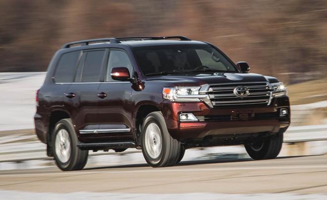 Gần 88.000 chiếc Toyota Land Cruiser và Lexus LX570 buộc triệu hồi vì lỗi túi khí - 1