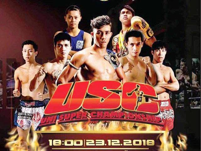 """Đại chiến Muay Thái: """"Độc cô cầu bại"""" Duy Nhất đấu siêu võ sĩ Thái Lan"""