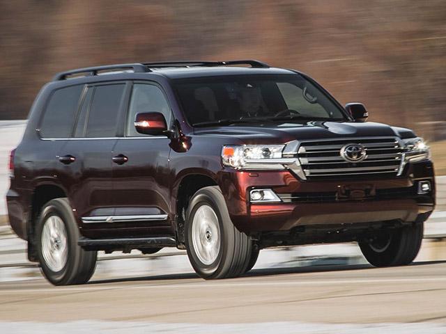 Gần 88.000 chiếc Toyota Land Cruiser và Lexus LX570 buộc triệu hồi vì lỗi túi khí