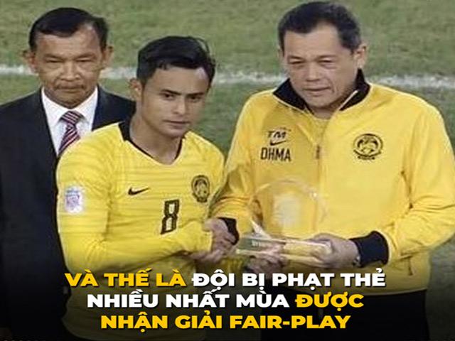 Đây là lý do Malaysia được trao giải Fair-play tại AFF Cup 2018