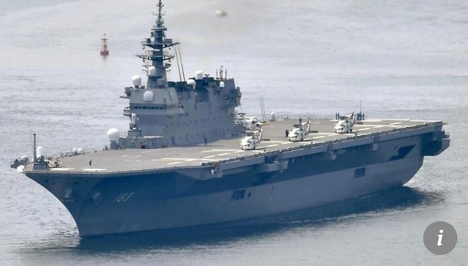 Nhật Bản biến tàu chiến thành tàu sân bay: Trung Quốc có e sợ? - 1