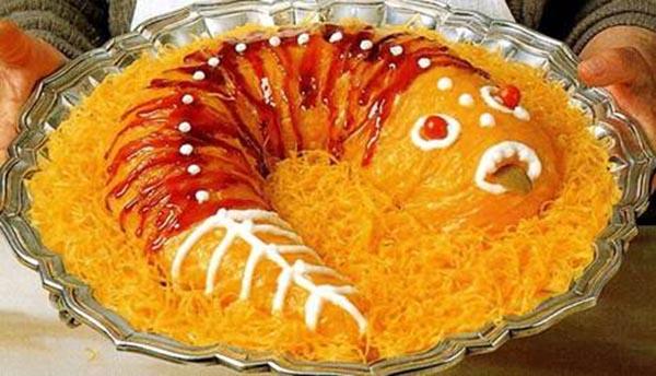Khó tin được những món kinh dị này lại được ăn trong dịp Giáng Sinh-Ẩm thực 24h