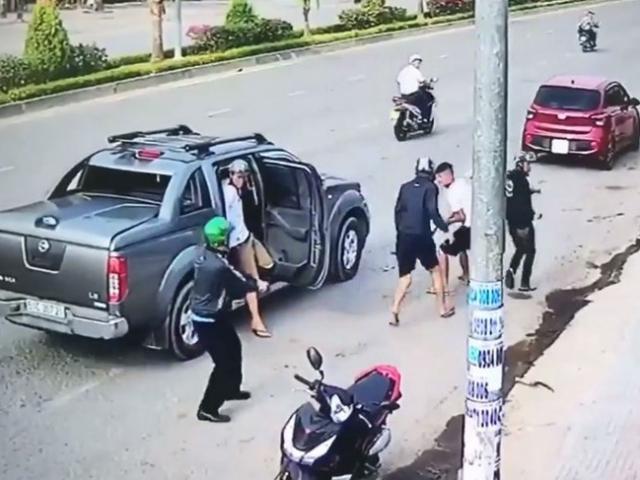 Giang hồ đi ô tô chém chết người ở TP.HCM