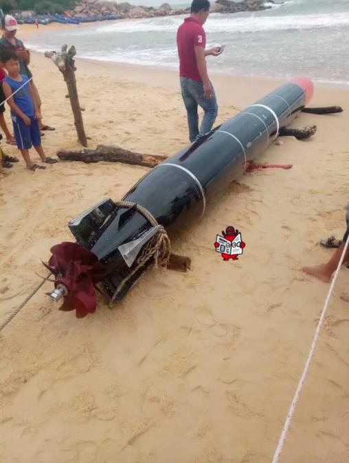 Thông tin mới nhất vụ phát hiện vật thể lạ trên biển Phú Yên - 1
