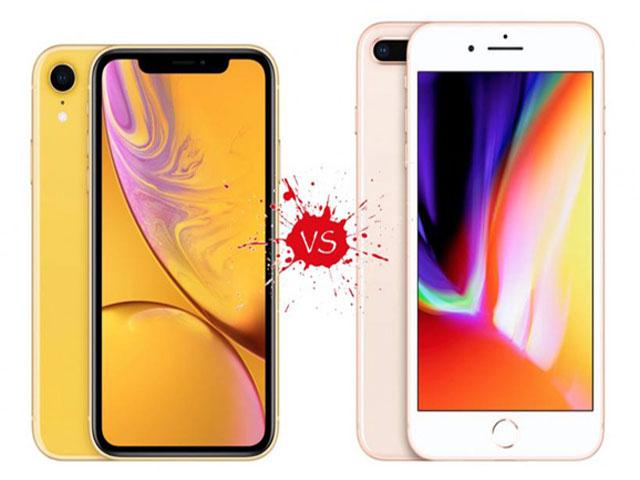 Nên mua iPhone 8 Plus hay iPhone XR khi chênh hơn 2 triệu đồng?