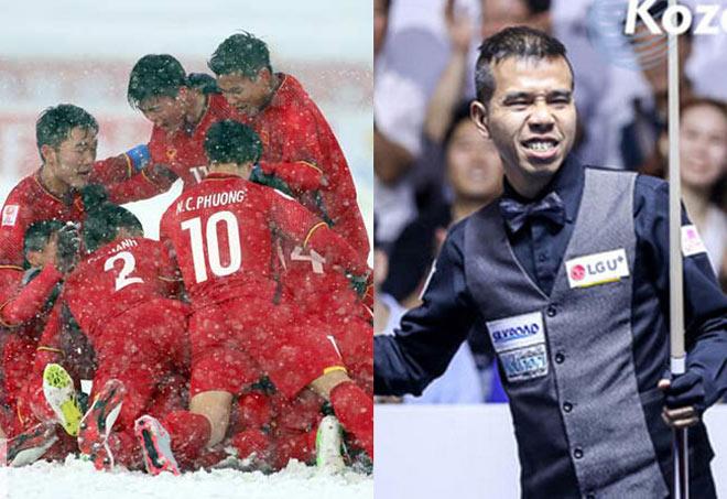Thể thao Việt Nam ngất ngây 2018: Bi-a số 1 World Cup, bóng đá vua AFF Cup - 1