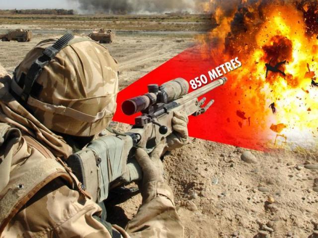 Lính bắn tỉa Anh tiêu diệt 6 tên khủng bố chỉ bằng 1 viên đạn