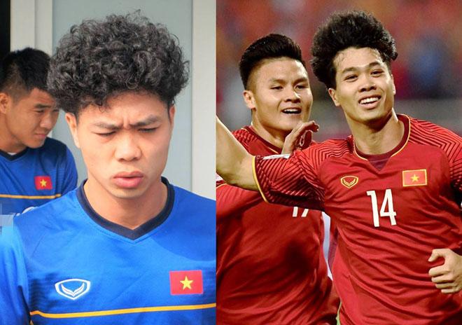 Tóc mới của Công Phượng giống Neymar nhưng khiến fan cười ngất - 1