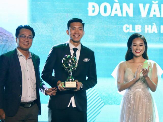Trực tiếp trao giải Quả bóng vàng Việt Nam: Công Phượng được yêu thích nhất