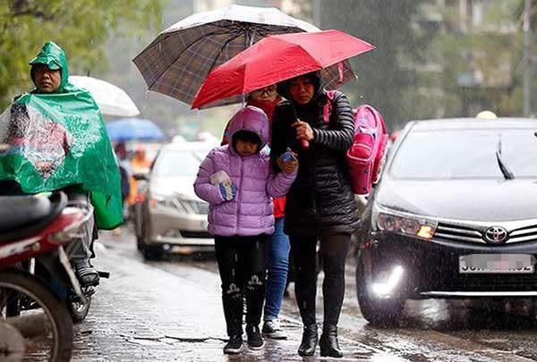 Ngày mai (23/12), gió mùa đông bắc tràn xuống, Hà Nội lạnh 16 độ - 1