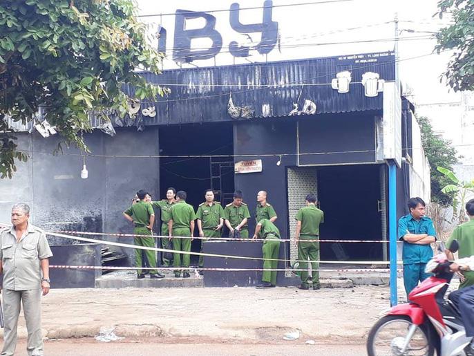Vụ cháy nhà hàng 6 người chết ở Đồng Nai: Nạn nhân thứ 7 rất nguy kịch - 1