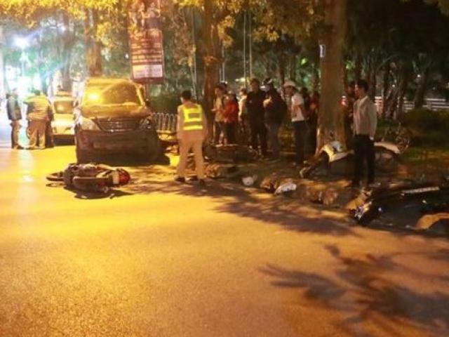 Nạn nhân vụ nữ tài xế xe Lexus gây tai nạn liên hoàn ở HN chưa nhận được lời xin lỗi