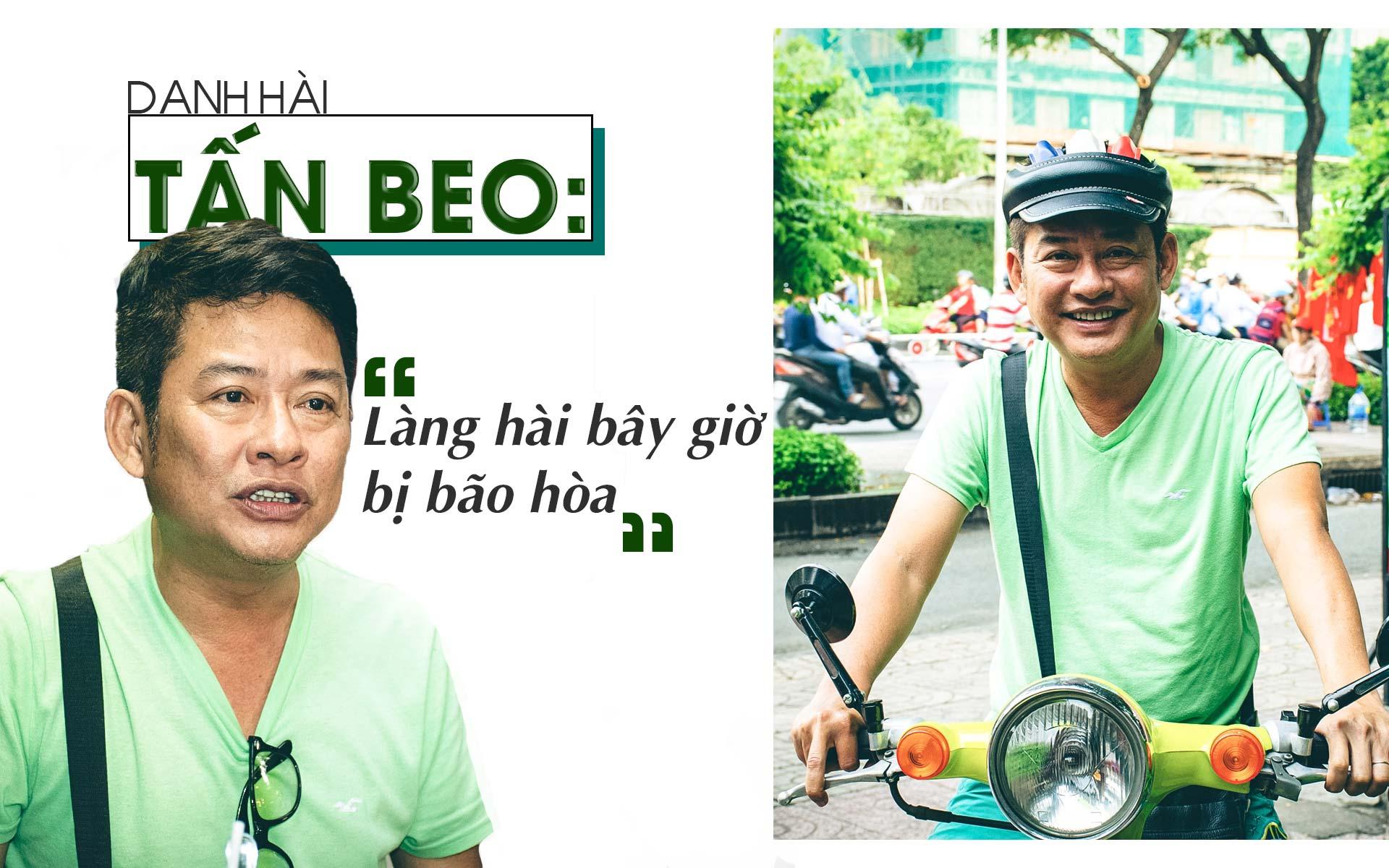 Danh hài Tấn Beo: Những người lên báo vạch mặt nhau không phải là nghệ sĩ - 1