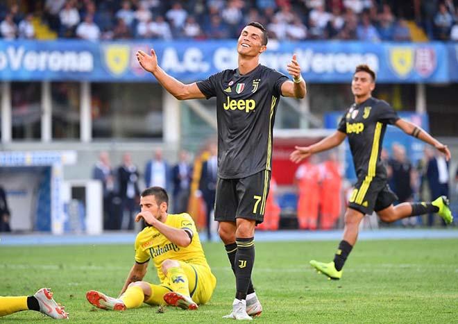 """Juventus vô địch lượt đi: Ronaldo mộng """"Vua"""" chưa thành & điệp vụ nghỉ đông - 1"""