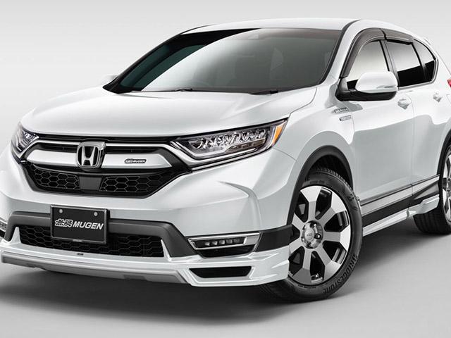 Honda sắp giới thiệu CR-V độ bodykit Mugen chính hãng