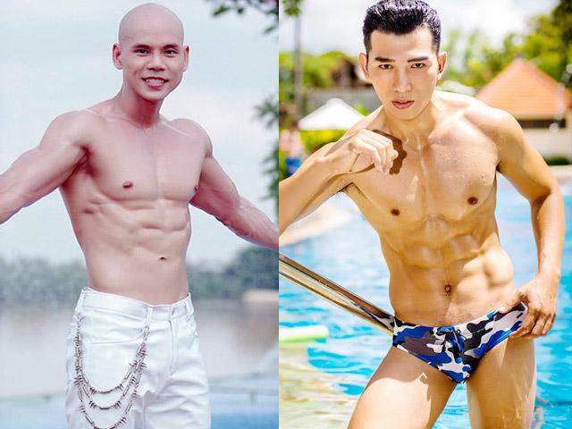 """Phan Đinh Tùng, Đan Trường, Trung Dũng: Top """"nam thần cơ bắp"""" Việt"""