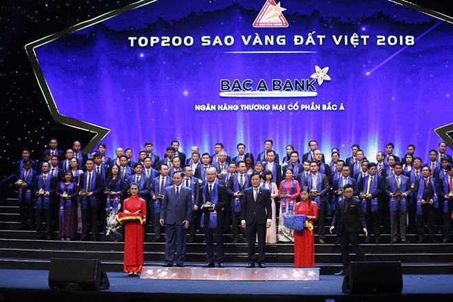 BAC A BANK giành Giải thưởng Sao Vàng đất Việt ngay lần đầu tham gia - 1