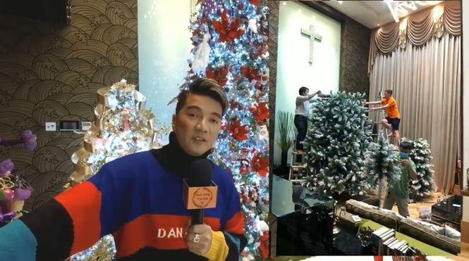 Biệt thự 60 tỷ của Đàm Vĩnh Hưng lung linh trong ngày Giáng sinh - 1