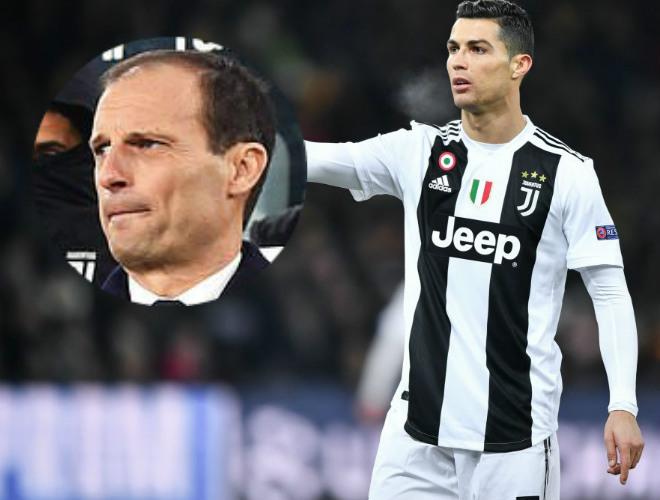 """Ronaldo 1 bàn/4 trận; Juventus ủ mưu học Zidane hồi sinh """"máy săn bàn"""" - 1"""