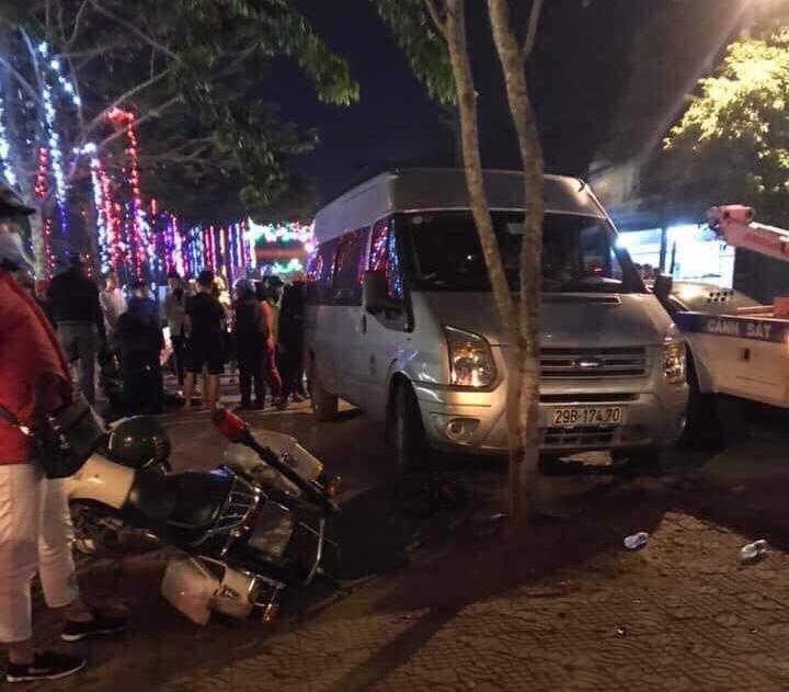 Tài xế say rượu gây tai nạn liên hoàn, một CSGT bị thương - 1