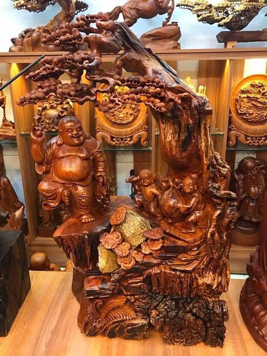 Tượng gỗ mỹ nghệ - Lựa chọn hàng đầu khi mua quà biếu tặng - 1