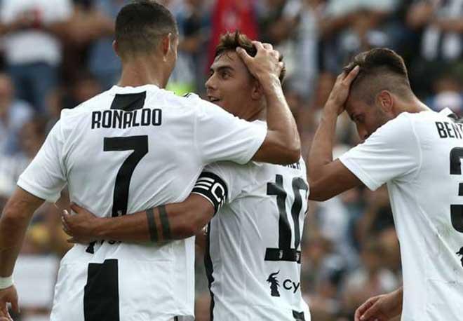 """Juventus mơ cú ăn ba: Ronaldo & Dybala """"làm nền"""" cho SAO 32 tuổi - 1"""