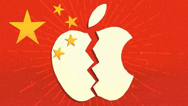 Hàng trăm công ty Trung Quốc tuyên bố tẩy chay iPhone - 1