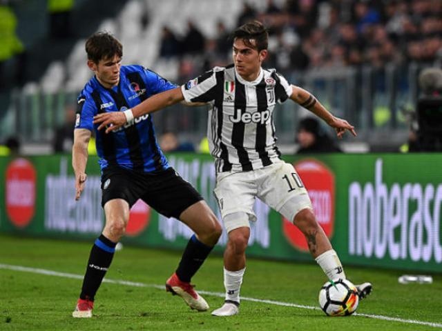 """Trực tiếp bóng đá Atalanta - Juventus: """"Lão bà"""" xứng danh vua phòng ngự"""