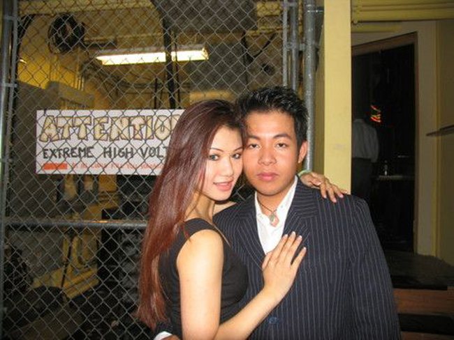 Quang Lê khẳng định, Linda Vi Trâm Nguyễn là mối tình đầu của anh. Trong thời gian hẹn hò, hai người có nhiều bức ảnh tình cảm.