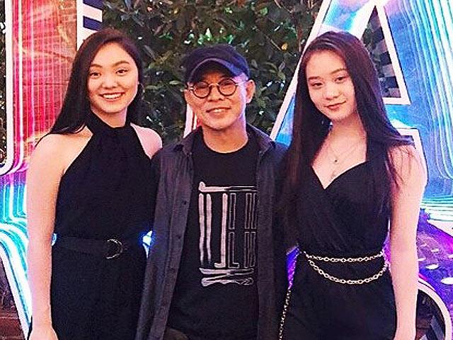 Lý Liên Kiệt bất ngờ khoe ảnh hai cô con gái xinh như siêu mẫu