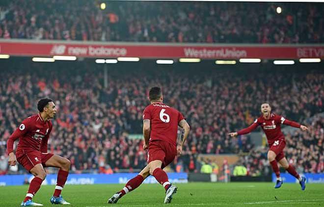 """Liverpool - Newcastle: Khởi đầu """"đại bác"""", tưng bừng đại tiệc 4 bàn - 1"""