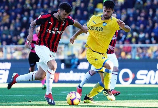 "Frosinone - AC Milan: ""Mắt thần"" VAR cứu Rossoneri - 1"