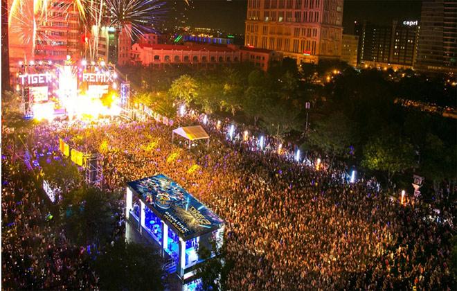 """Đại nhạc hội đón năm mới hứa hẹn """"bùng nổ"""" cùng Mỹ Tâm, Ưng Hoàng Phúc, Đông Nhi, Sơn Tùng MTP - 1"""