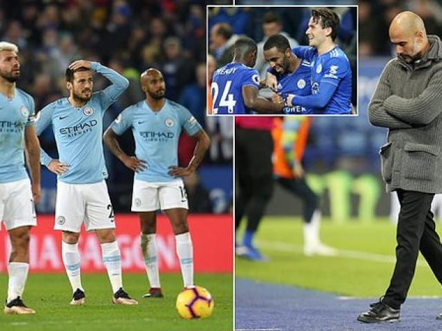 """Man City thua 2 trận liên tiếp: Pep Guardiola lo """"nhà vua"""" bị """"ám sát"""""""