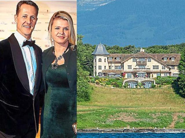 Lâu đài bí ẩn 1.477 tỷ đồng: Nơi người vợ giấu Schumacher khỏi thế giới