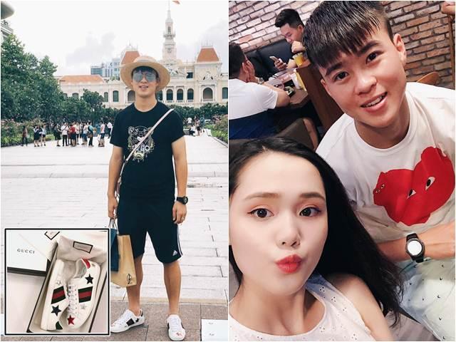 """Bóc giá tủ đồ hiệu ngập tràn, đắt đỏ của """"hot boy tuyển Việt Nam"""" Duy Mạnh"""
