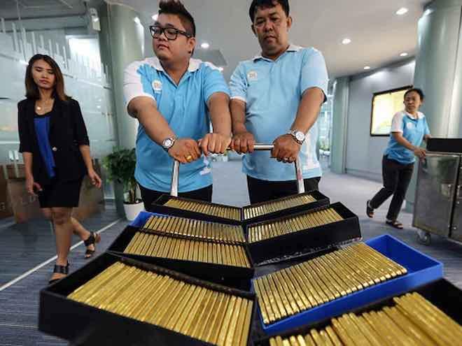Các nhà khoa học Trung Quốc biến đổi đồng thành vật liệu... giống như vàng - 1