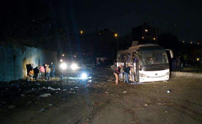 Đại sứ quán Việt Nam tại Ai Cập lên tiếng vụ đánh bom xe khách Việt - 1