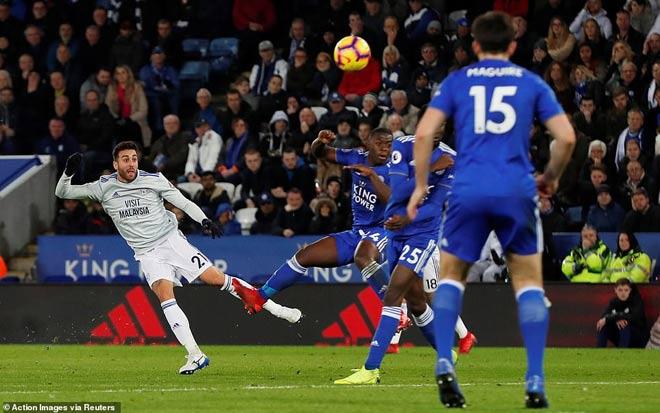 Leicester - Cardiff City: Nghiệt ngã dính đòn phút bù giờ - 1