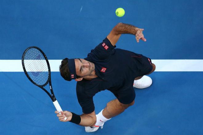 Federer - Norrie: Nhà vua xuất trận, tưng bừng tất niên - 1