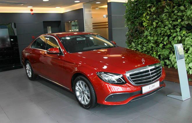 Giá xe Mercedes E200, E250, E300 cập nhật mới nhất 2019 - 1