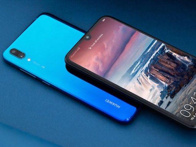 """Huawei Y7 Pro (2019) trình làng: Màn hình lớn, pin """"khủng"""", mặt lưng chuyển màu"""