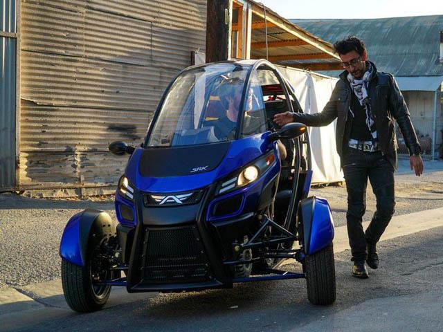 Xe điện ba bánh Arcimoto FUV ra mắt đầu năm 2019