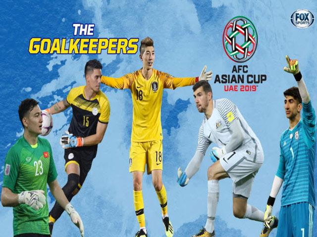 """Thủ môn Lâm """"Tây"""" lọt top 5 """"người nhện"""" Asian Cup: Đọ tài SAO 212 tỷ đồng"""