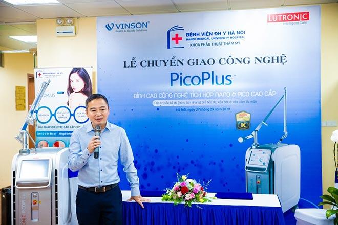 Công nghệ laser Pico mới nhất được chuyển giao đến Bệnh Viện Đại Học Y Hà Nội - 1